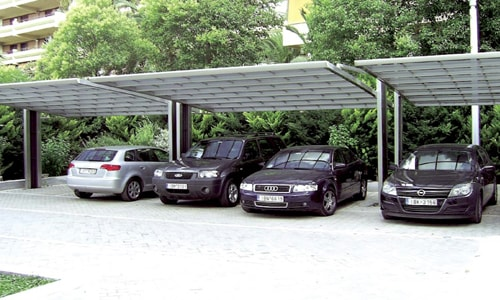 Навес для парковки