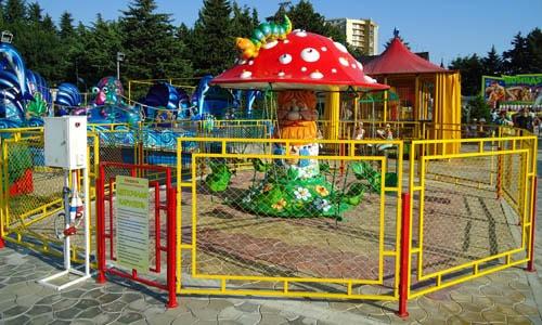 Ограждение для детского сада