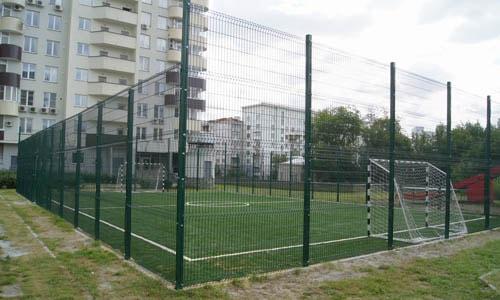 Ограждение для футбольного поля